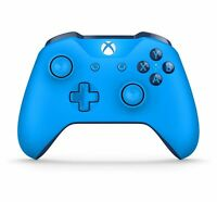Genuine Microsoft Xbox One Blue Wireless Bluetooth Controller