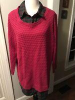 Faded Glory Collared Sweater
