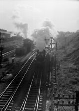 PHOTO  GAER JUNCTION VIEWED FROM ABOVE THE TUNNEL 12TH NOV 1958
