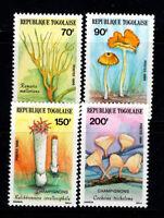 Togo 1986 Mi. 1966-1969 Postfrisch 100% Pilze