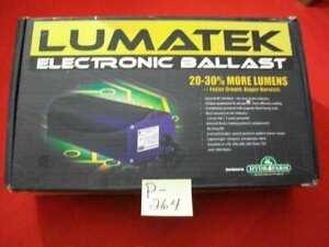 BRAND NEW LUMATEK ELECTRONIC BALLAST 400 W 120 V GROW LIGHT 20-30% MORE LUMENS