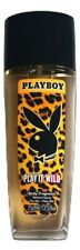 (5,19€/100ml) Playboy Play It Wild women Deo Natural Spray Glasflasche