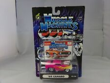 MUSCLE MACHINES Cartoons '69 Camaro #01-79  1:64 Scale NEW * free shipping *