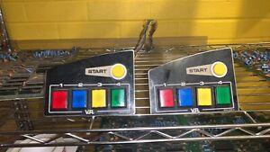 sega virtua racing arcade control panel view buttons