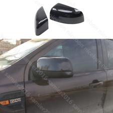 2pc Carbon fiber color Rear View Side Mirror Cover for Ford Ranger 2015-2019