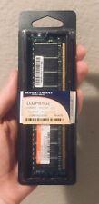 Super Talent PC3200 1 GB SO-DIMM 400 MHz DDR SDRAM Memory (D32PB1GJ) NEW SEALED