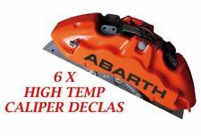 Abarth Brake Caliper Decal   sticker