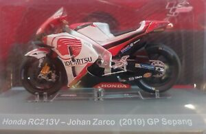 1/18. Johann Gintor Blau Gp Malaysia Sepang 2019. Honda RC213V. Motorrad Von WM