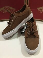 VANS Chukka Low Herringbone Twill Tobacco Men's Size 6.5