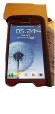 Samsung Galaxy S III SGH-I747 - 16GB - Garnet Red (AT&T) Smartphone. lifeproof