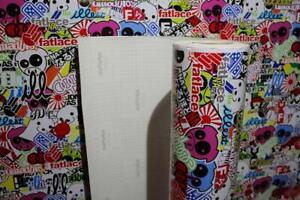 [30,00€/ m²] Stickerbombfolie Autofolie Stickerbomb folie sticker bomb - JDM