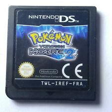 (FRENCH VERSION) Pokemon: Black Version 2 DS Cart Only Tested # 30123- 9.5/10