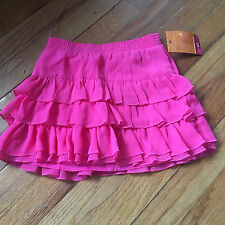 Sonoma NEW girls toddler size 4T 4 Valentine's skirt skort ruffle pink NWT