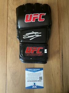 Nate Diaz Signed UFC Glove COA Beckett #BA09249 Autographed
