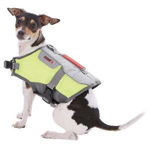 NWT NIP KONG Sport AquaFloat Dog Flotation Vest, Green, X-Small