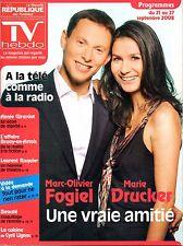 TV HEBDO 2008: MARIE DRUCKER_Marc Olivier FOGIEL_ANNIE GIRARDOT