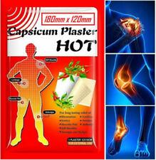 10 PZ grande Capsicum Intonaco TIGER HOT dolore sollievo muscolare allevia Patch