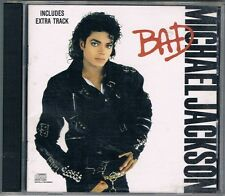 MICHAEL JACKSON - BAD  C.D (EXTRA TRACK EDITION)