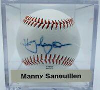 Pirates Manny Sanguillen Autograph On official league baseball.