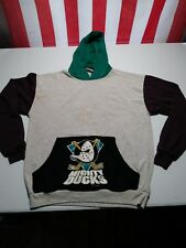Vintage 90's Mighty Ducks Hooded Sweatshirt Youth Large (16-18) 1995 D2 D3