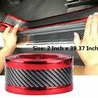 5d Accessories Car Sticker Carbon Fiber Molding Door Sill Rubber Protector Parts