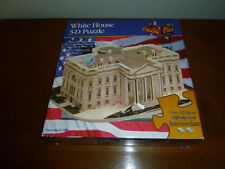 THE WHITE HOUSE 1994 PUZZLE PLEX 3D PUZZLE OVER 350 PCS MADE IN USA!