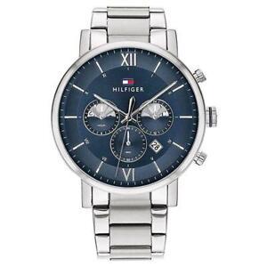 Tommy Hilfiger 1710409 Silver Men's Watch Evan