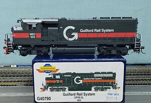 Athearn Genesis #G40790 - HO - Guilford Rail System GP40-2L Road #503