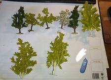 HO BUSCH lot de 8 arbres