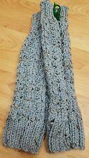 Handmade Crochet Leg Warmers Boot Cuffs Boot Toppers Light Blue winter