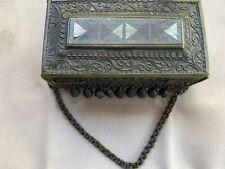 Circa 1800s Very Heavy Ornate Box from Morocco