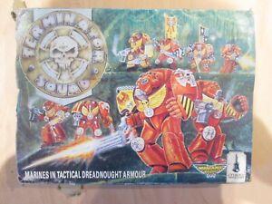 Warhammer 40k Classic Metal Space Marine Terminator Squad Box Set Incomplete