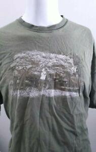 Vintage Dry Fly Distillery T Shirt Hanes Beefy Sz 2XL