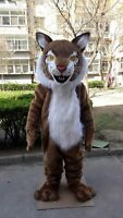 Halloween Wildcat Mascot Costume Suit Cosplay Party Game Dress Outfit Adult 2019