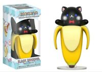 Bananya - Black Bananya Vinyl Figure-FUN15006