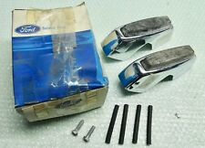 MK2 CORTINA GT 1600E LOTUS GENUINE FORD NOS BUMPER OVER RIDER KIT