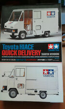 1:24 Toyota Hiace Quick Delivery Van Tamiya 24332 sehr selten