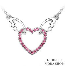 Collana Donna Ciondolo Cuore con Crystal Swarovski Elements - G146