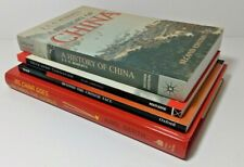 (4) Books on China & Chinese History - JAG Roberts, Psychology, Communism & More
