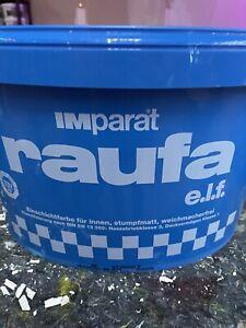 IMparat Raufa ELF Wandfarbe Farbe Bild Innenfarbe 12,5L Restposten 4,20€/L)Weiss