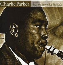 Charlie Parker - Complete Greatest Verve Bop Quintets (CD-Album, 2001) wie neu!