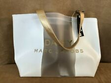 Marc Jacobs Daisy love and Tote Bag clear shopping purse carry all shopper