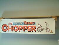 Raleigh Beano Chopper Cycle BANNER bicycle Display sign poster
