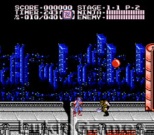 Ninja Gaiden II 2 - Great NES Nintendo Game