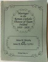 Marriages in Roman Catholic Diocese of Tuam Ireland, By HM Murphy et al  MINT!