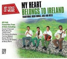 My Heart Belongs to Ireland 2 CD Set Sean Wilson Clancy Brothers Susan Mcann