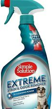 Pet Dog Extreme Stain And Odour Remover Puppy Urine Smell Destroyer 945ml NEW
