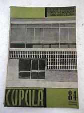 Revista Cupula num.84,Construccion,Decoracion,Arquitectura