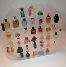Parfüm Setzkasten mit Miniaturen Plexiglas, Acrylglas Setzkasten