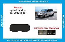 pellicola oscurante vetri renault modus 5p dal 2004-2009 kit completo
